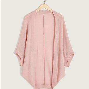 Sweaters - Cocoon Lightweight Sweater Dusty Pink 2x/3x